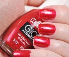 esmalte dar o que falar, esmalte vermelho da coleção Gio III da Colorama