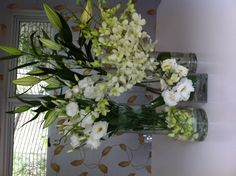 Stylish Flowers by Instyle Indulgence Interiors Recycled By: http://diy.hiredhubby.com/