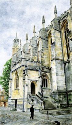 Eton College Chapel by Wabbit-t3h.deviantart.com