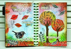 Art Journal - Autumn Impressions