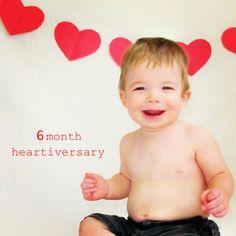 Heartiversary photo idea for CHD