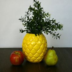Pineapple Planter Pot / Vase  Large by PaperBoatDesign on Etsy