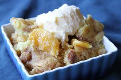 So yesterday was National Eat a Peach Day! And in true Stacey fashion I'm a day late and a dollar short. But, this recipe is outstanding no matter what day it's posted. A few weekends…read Jiffy Mix Recipes, Jiffy Cornbread Recipes, Creamed Corn Cornbread, Comfort Food List, Eat A Peach, Corn Muffin Mix, Dessert Recipes, Desserts, Yeast Bread