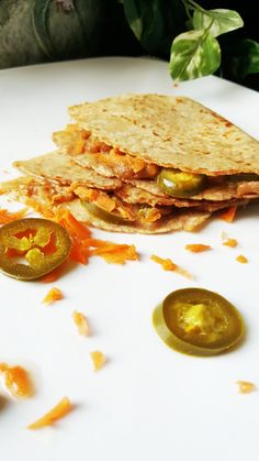 {Healthy, Vegan, GF-adaptable} Take the stress out of lunchtime with these bold and flavorful spicy peanut tortilla sandwiches! Made in minutes and full of protein, they're great for a meal in a hurry.