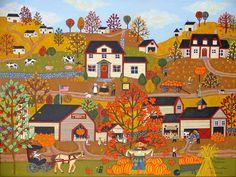 The Pumpkin Festival by Medana Gabbard