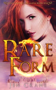 Rare Form (Descended of Dragons, By: Jen Crane Publisher: Self-Published Published: Oct. 2015 Genre: New Adult Fantasy Romance Rating: A Secret Past Fiery redhead Stella Stonewall can't deci… I Love Books, Good Books, Books To Read, My Books, High Fantasy, Fantasy Romance, Fantasy Series, Book Show, Book 1