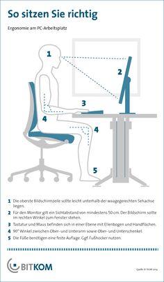 Handy-Daumen, Maus-Arm oder Tablet-Schulter? Das muss nicht sein. Unsere Tipps für den ergonomischen Arbeitsplatz. Home Office, Body Size, Stay Fit, Tricks, Industrial Design, Workplace, Shoulder, Phone, Health