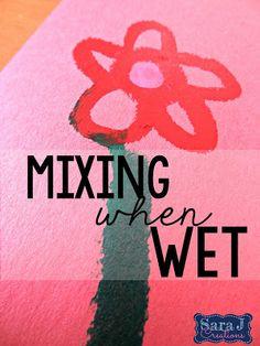 Sara J Creations: Kwik Stix: My New Favorite Way to Paint