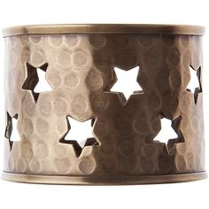 Lexington Holiday Star Napkin Ring ($13) ❤ liked on Polyvore featuring home, kitchen & dining, napkin rings and copper