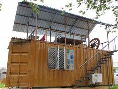 CASAS CONTENEDORES: La primera casa contenedor en Bangalore, India.