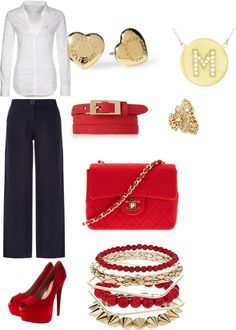 """Ruby Kiss"" by mssbutler01 on Polyvore"
