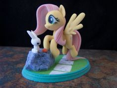 My Little Pony Fluttershy Sandstone 3D Printed by NumberOneDime, $36.71