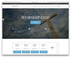 We bring you the best church WordPress themes for religous websites. These are the most popular and easy to use website designs. Wordpress Premium, Worship God, Giving Back, Non Profit, Wordpress Theme, Free, Website Designs, Multimedia, Internet