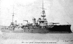 French Liberté Class Battleships: Postcard Views (1908-1914)