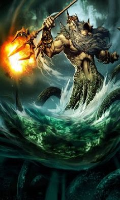 Poseidon controlled the ocean, so all tides, floods, and the fate of sailors were under his care. His wrath could cause earthquakes, which is why he is sometimes known as the Earth Shaker.