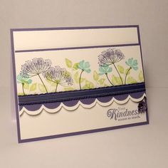 cQc182: Kindness with Summer Silhouettes by wiebergs - Cards and Paper Crafts at Splitcoaststampers