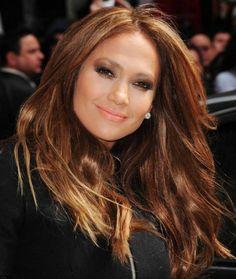 Jennifer Lopez hair color is pretty!