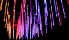 3D LED Tubes System - Eggsotic Events • Event Design, Decor, Lighting and Production for Social and Corporate Events