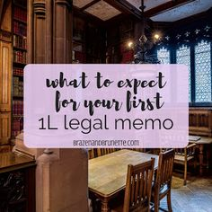 What to Expect on Your First Legal Memo ~ Brazen and Brunette ⚖ law school advice and law school tips Prep School, School Staff, School Hacks, Law School, School Tips, Pre Writing, Writing Tips, Lsat Prep, Lay Down The Law