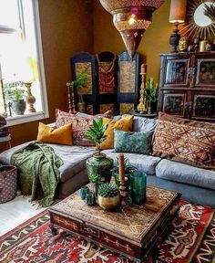 30 Inspiring Bohemian Living Room Ideas For Your Home. 30 Inspiring Bohemian Living Room Ideas For Your Home. Compromise is a critical life skill that enters every dimension of life-even decorating your living room. When you are thinking […] Bohemian Room, Bohemian Living Rooms, Hippie Living Room, Bohemian Homes, Hippie Bohemian, Dark Bohemian, Hippie House, French Bohemian, Bohemian Lifestyle