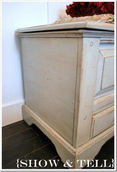 How to Glaze Furniture tutorial
