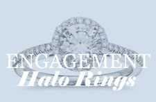 Halo Engagement Ring Style from bluenile.com