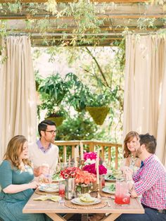 Set Your Table for Spring - 12 Tips for Hosting an Outdoor Spring Party on HGTV