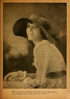 "1919 portrait of Pauline Stark from ""Photoplay"" magazine"