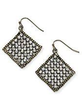 Bronze Mesh Earrings- They move when you walk!  So pretty!