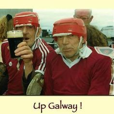 Looking forward to our upcoming weekend of hurling and our trip to Galway. Who knows we might even bump into these guys if we're lucky? Best Of Ireland, Irish Culture, Bump, Champion, History, Historia