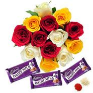 Chocolates With Flowers Online