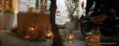 a Romantic Wedding Decoration in Syros island, Greece. Wedding Decorations, Romantic, Home Decor, Decoration Home, Room Decor, Wedding Decor, Romance Movies, Home Interior Design, Romantic Things