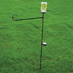 This unique flagpole has solar-powered LEDs that light up inside the jar after dark to mark your campsite. Solar Mason Jars, Camping Supplies, Camping World, After Dark, Campsite, Solar Power, Light Up, Unique, Camping
