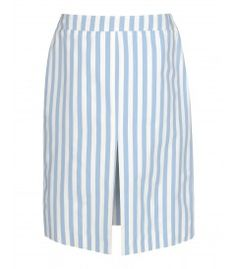 Marta Ferri Striped Skirt - Shop more ways to look expensive without spending a fortune: http://shop.harpersbazaar.com/trends/high-low-summer-must-haves/