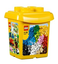 Lego 10662, Creative Bucket: Build and Rebuild: Amazon.co.uk: Toys  Games 607 pieces Price:	£26.07