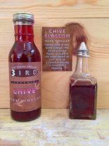 Red Wine Chive Blossom Herbal Vinegar