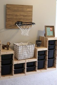 Big Boy Room Makeover on a budget. Big Boy Room Makeover on a budget. Big boy room makeover on a budget and reusing items around the house. A room that can grow as he gets older. Kid Room Decor, Kids Room Design, Room Diy, Boys Room Decor, Room Shelves, Home Decor, Children Room Boy, Room Makeover, Big Boy Room