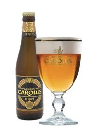 """Proud to be Belgian and citizen of Mechelen, where """"het anker"""" is one of the oldest city breweries in the world, Gouden Carolus Tripel, 9%"""