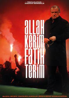 """""""ALLAH KERİM FATİH TERİM"""""""