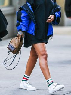 Confirmed: This Is How to Wear Sneakers in 2017 | WhoWhatWear.com | Bloglovin'