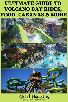 Read on to learn more about the INCREDIBLE Volcano Bay Water Park from rides, food, cabanas and more! Disney Vacation Club, Disney Travel, Vacation Ideas, Volcano Bay, Disney World Outfits, Universal Orlando, Universal Studios, Orlando Travel, Usa Holidays