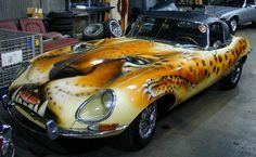 What kind of car is it?  Why it's a Jaguar,   Duh!