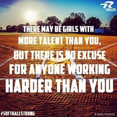 There may be girls with more talent than you... - Softball Chatter