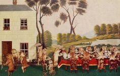 Walter Potter's Taxidermy: Kitten's Tea & Croquet Party (c.1870s)