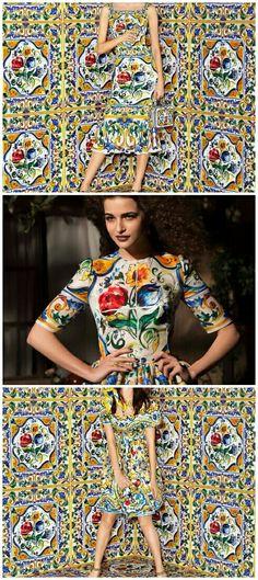 D&G  #fashion #ceramica #madeinitaly