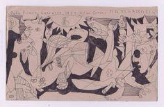 guernica sketchbook