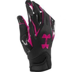 Pánské rukavice na americký fotbal Under Armour F4 Football Gloves