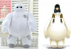 2016 Hot Sale 20 80cm White Big Hero 6 Baymax Stuffed Animal Plush Toys With Tag Stuffed Dolls For Children From Afandadress, $6.16 | Dhgate.Com