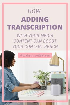 Transcribing your media content can provide several benefits for you and your followers and it can give your SEO a boost.