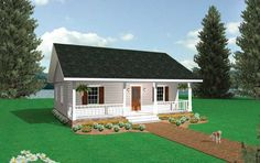 Enjoy inspiring Marvelous Small Country Cottage House Plans Small Cottage Cabin House Plans design recommendations from Katherine Washington to upgra. Cottage Style House Plans, Cabin House Plans, French Country House Plans, Ranch House Plans, Dream House Plans, Small House Plans, House Floor Plans, Farm House, Small Cottage Plans